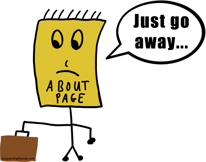about page sad