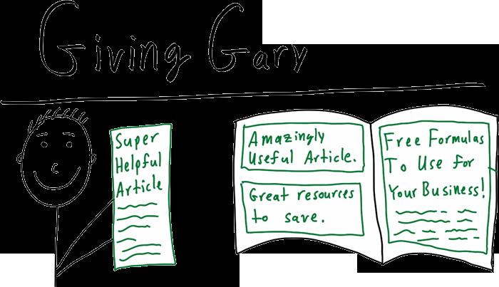 Giving Gary Advertorial
