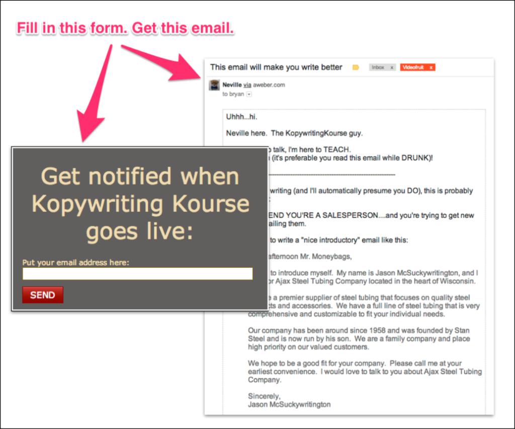 How I make 7 a week with autoresponders :: Kopywriting Kourse
