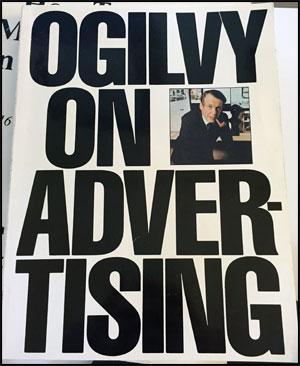 Ogilvy on Advertising book by David Ogilvy