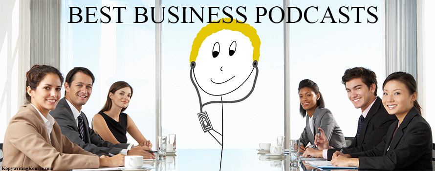 Best Business Podcasts Drawing