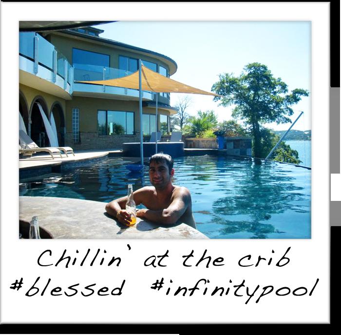 Chillin at the crib