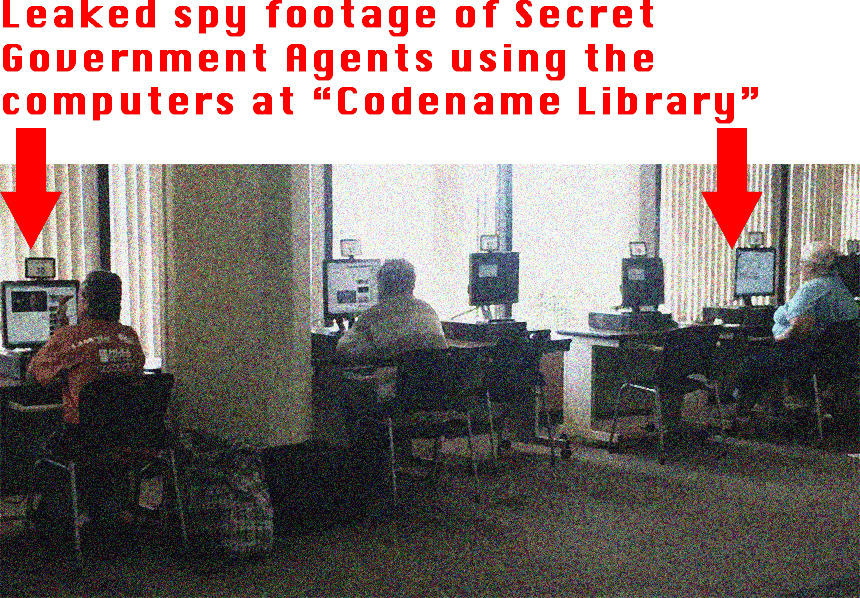 Codename Library Spy Footage