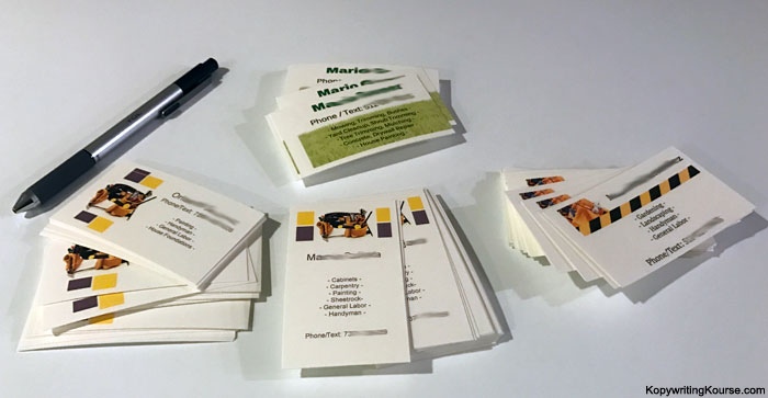 Day Laborer Business Cards