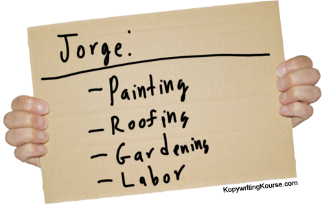 day laborer signs