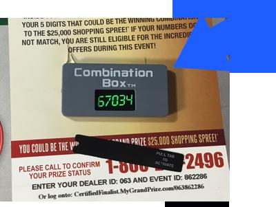 Combination Box Mail