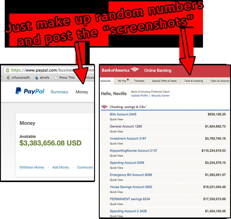 Fake Bank Numbers