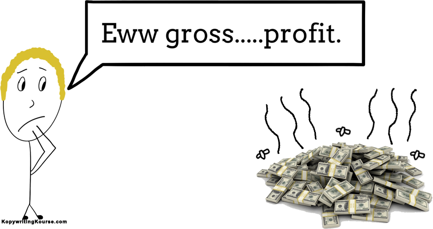 Gross Profit Stinky Joke