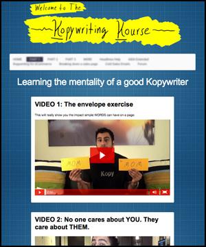 The Kopywriting Kourse pic