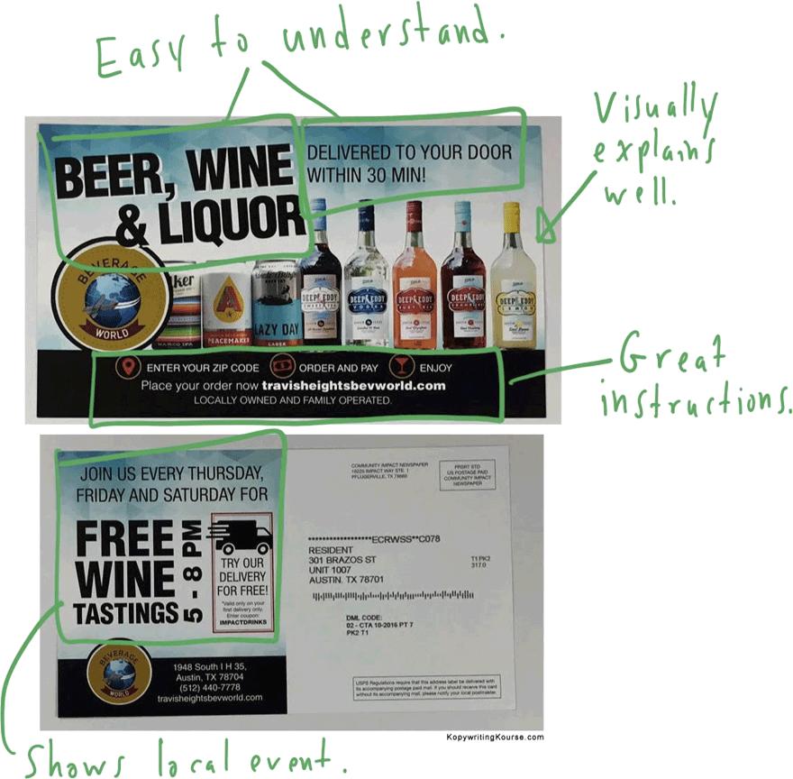 Liquor Flyer Suggestions