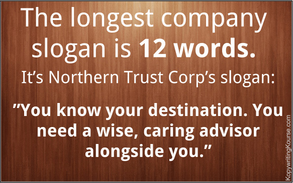 Longest Company Slogan Length