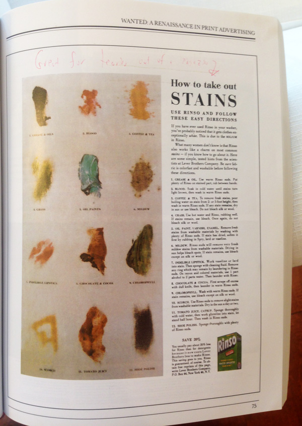 Ogilvy Advertorial Rinso Stains