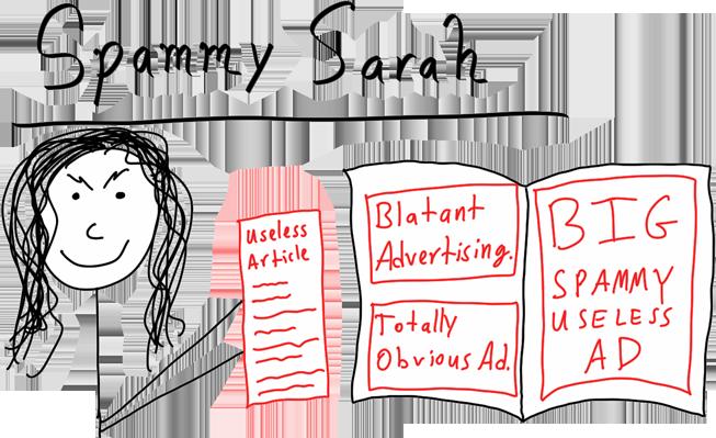 Spammy Sarah