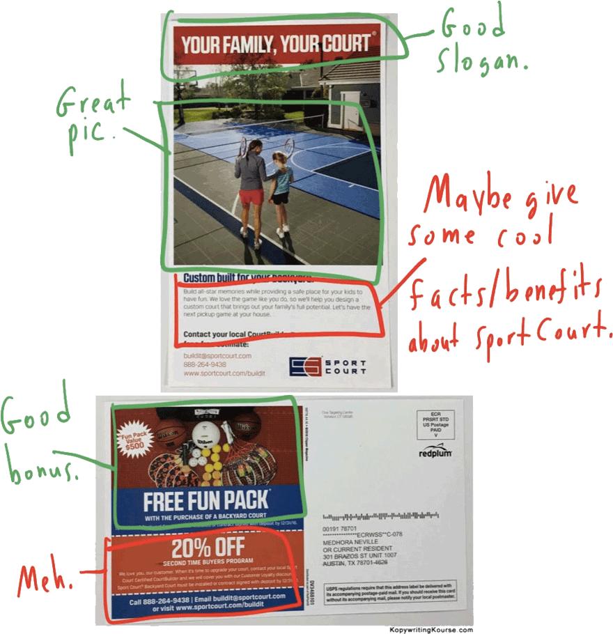 sportcourt flyer markup