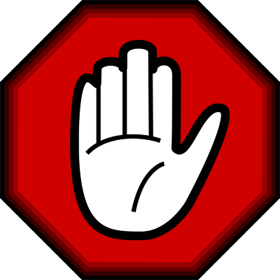 Stop Hand and octagon