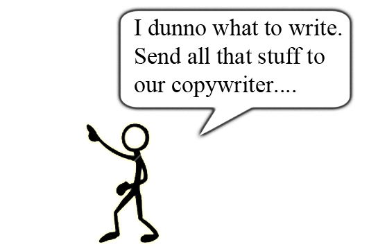 What do copywriters do?