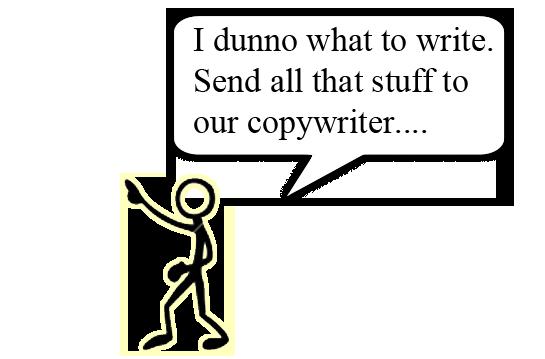 What do copywriters do?