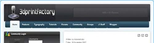 3dprintfactory screenshot