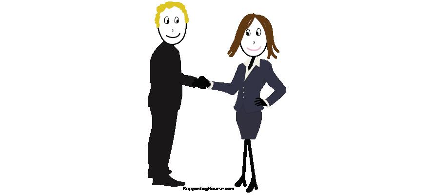 B2B Business Handshake
