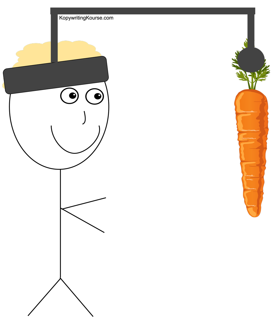chase carrot stickman