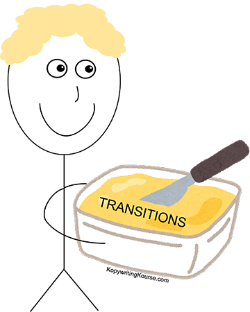 transitions butter