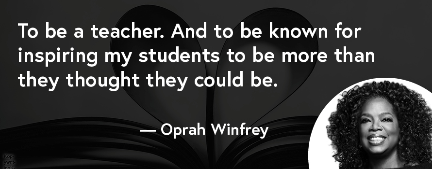Oprah Winfrey quote about purpose in life