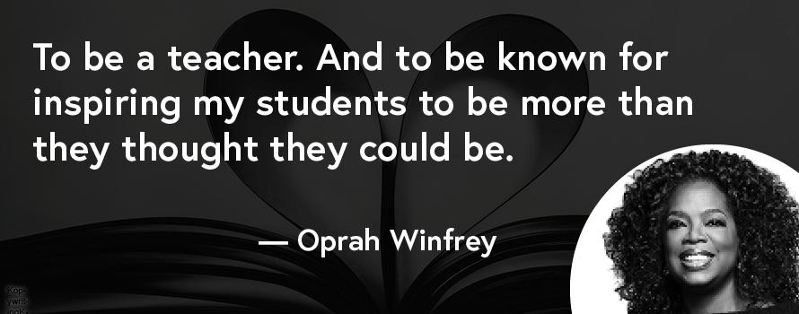 oprah winfrey mission statement
