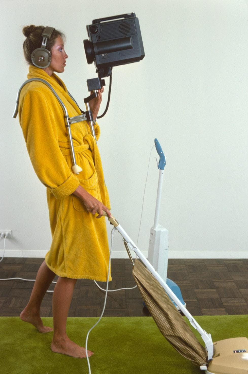 suzan wood vacuum camera photo
