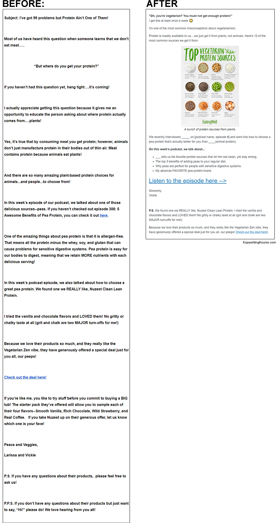 Vickie before and after email-template
