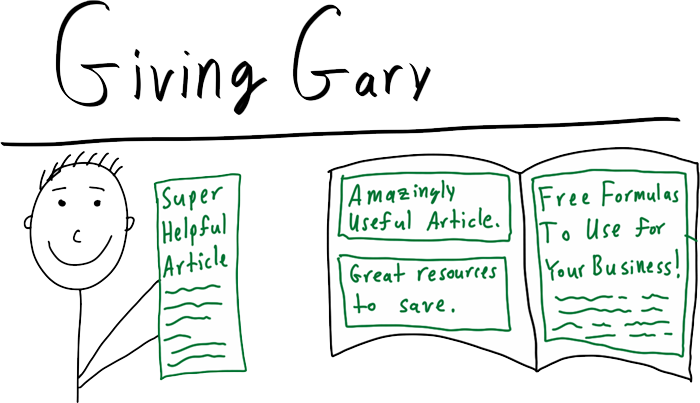 Giving Gary Advertorial