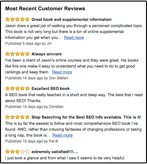 Writing headlines from Amazon customer reviews
