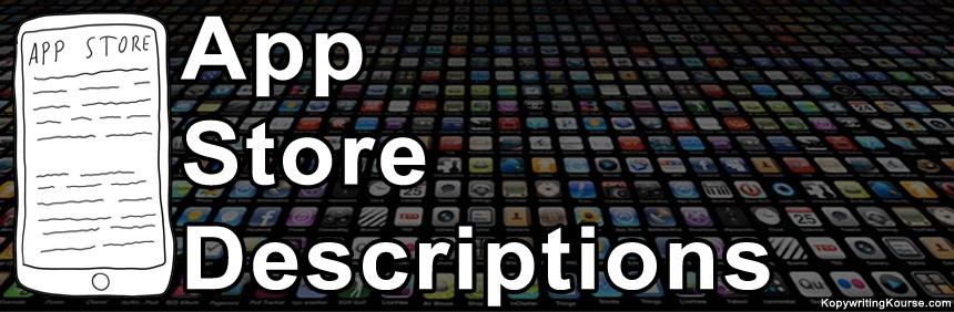 App Store Descriptions Header