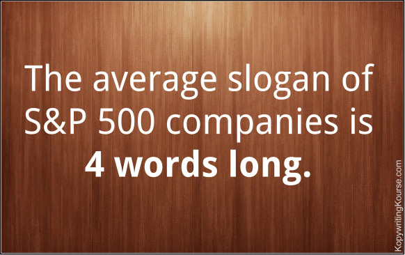Average Slogan Length