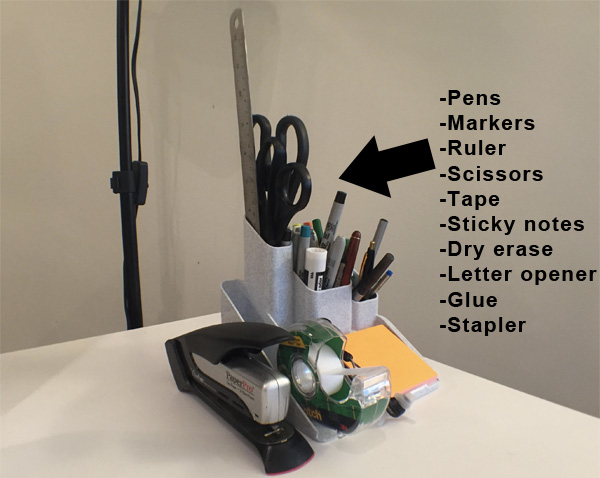 Basic office supplies