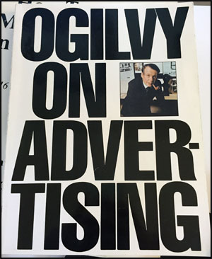 Ogilvy on Advertising book by David Ogilvy