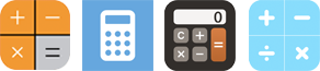 calculator app icons