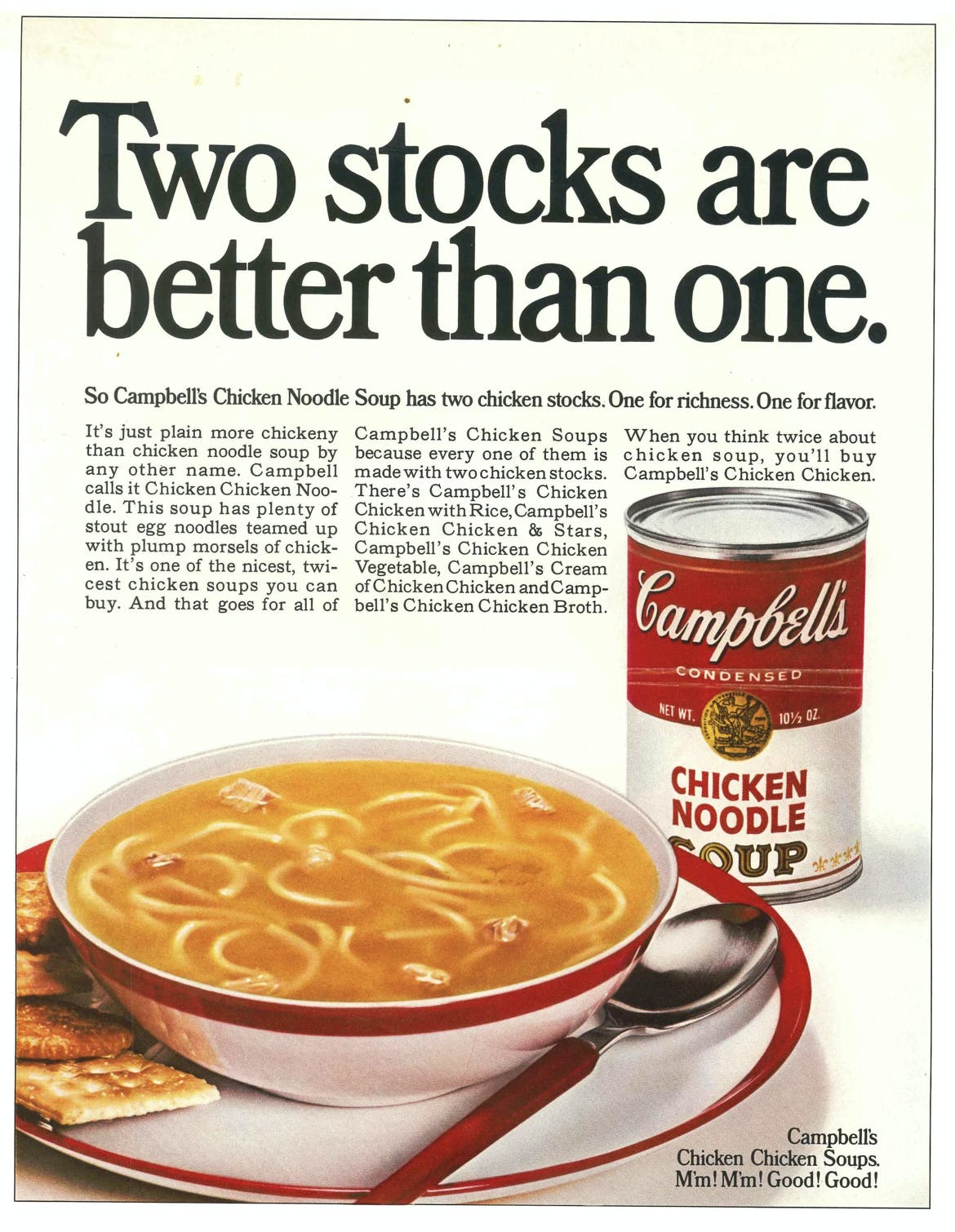 campbells chicken soup ad