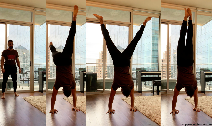 Carpal Tunnel Handstand Sequence