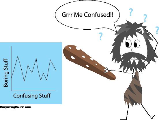 caveman confused