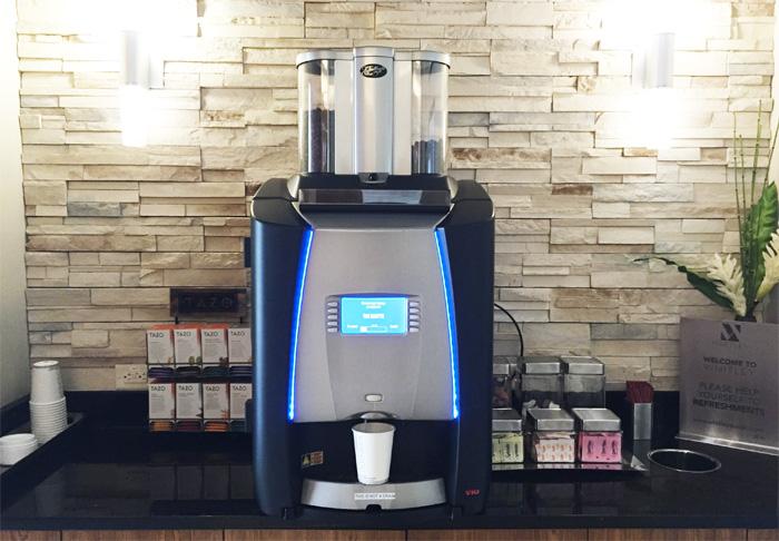 Coffee machine area whitley