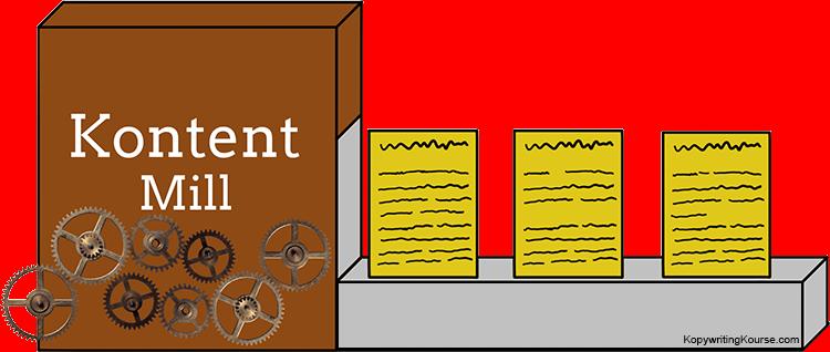 Content Mill Machine