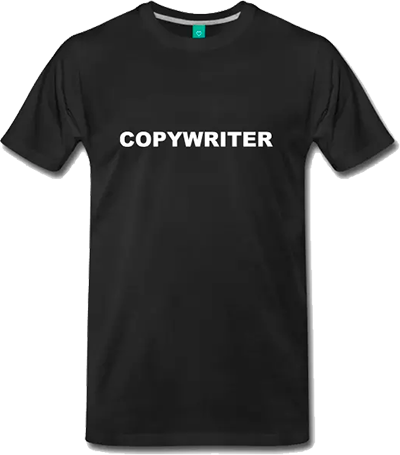 copywriter tshirt