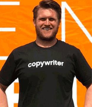 copywrting clients tshirt gerard