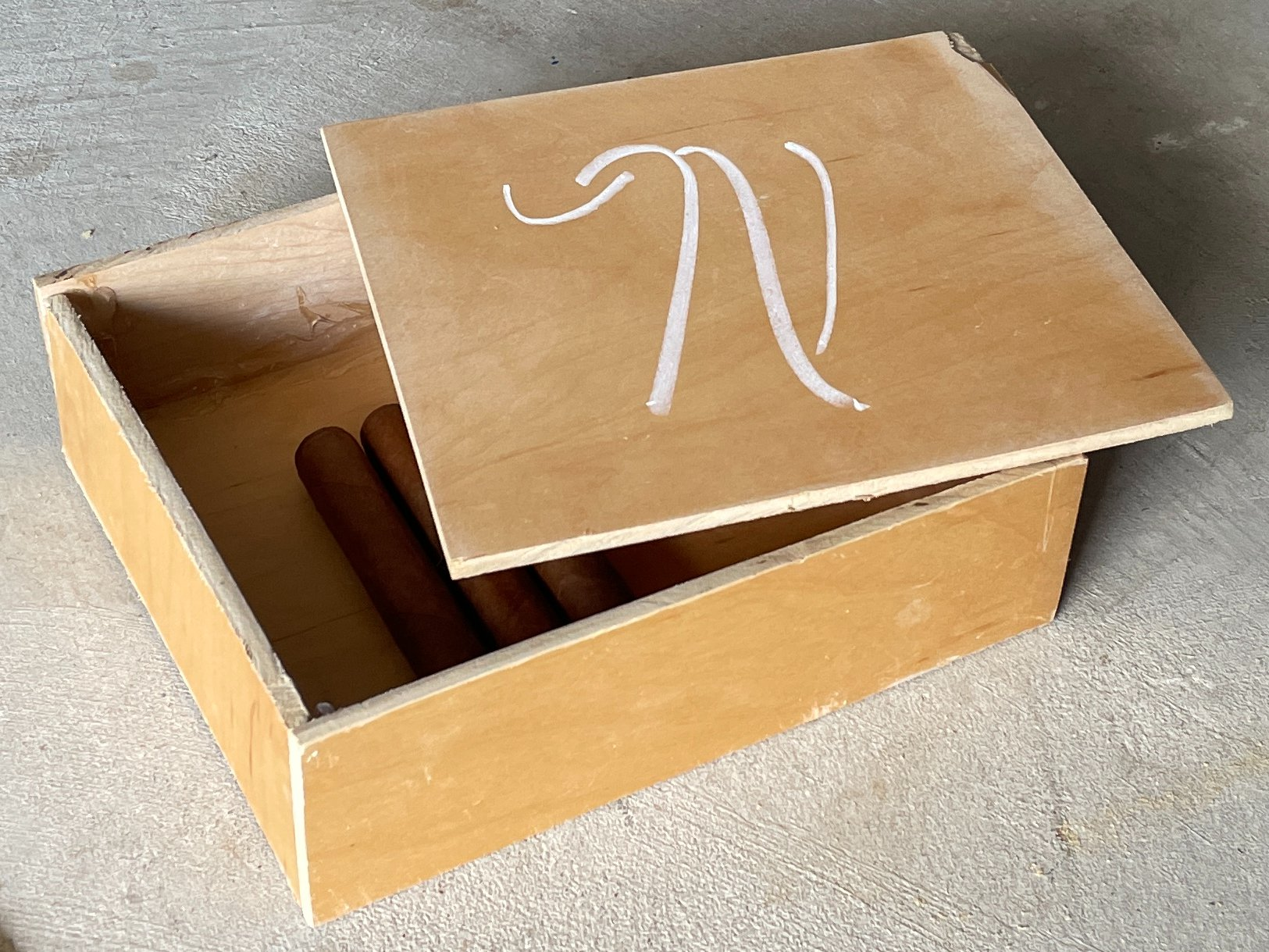 cigar box project 2