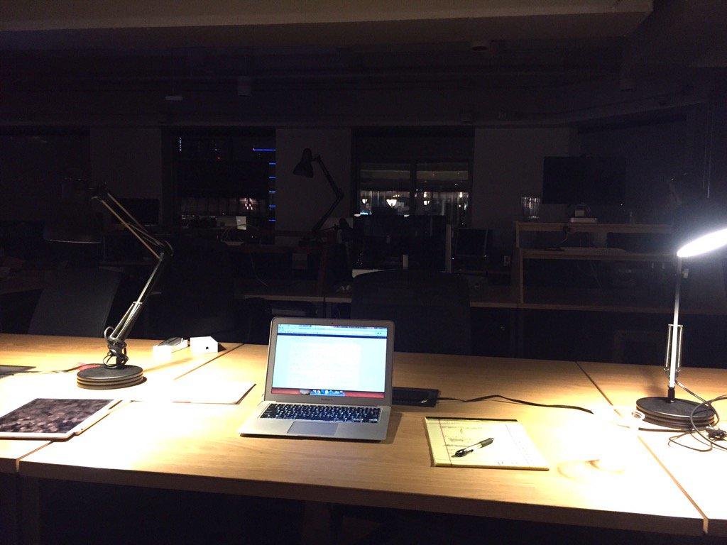 dark office neville lamps