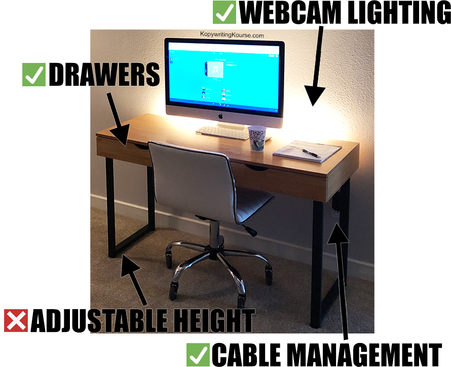 desk diy almost perfect adjustable