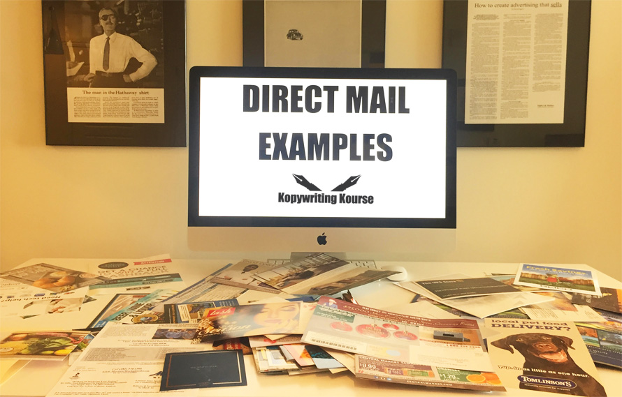 Direct Mail Marketing Guide And Real Life Examples Kopywriting Kourse