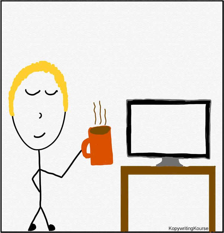 Finish Something Getting Coffee