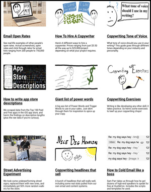 Free copywriting guides pic