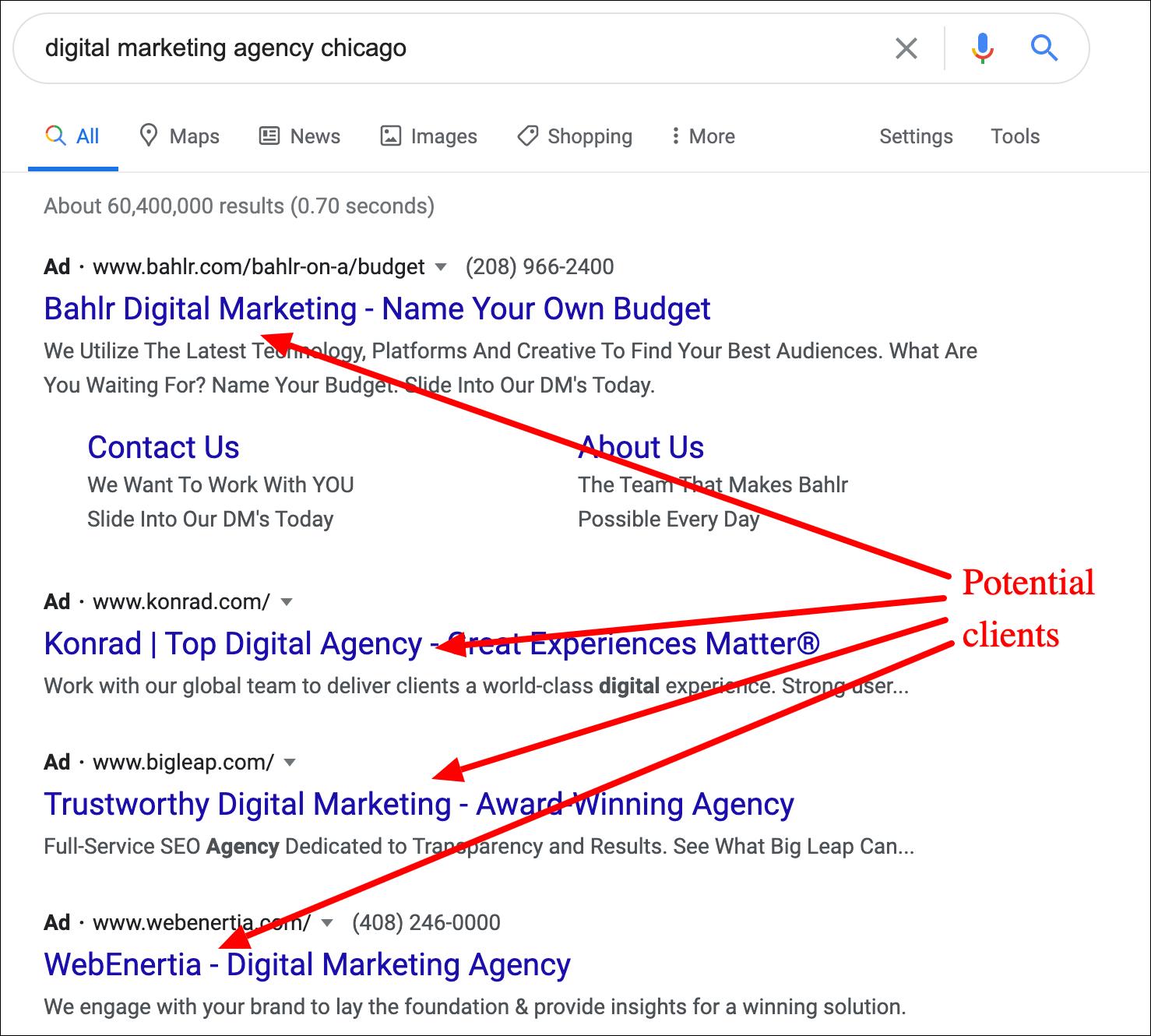 google search agency